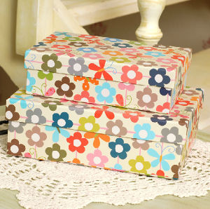 Printed Paper Storage Box / Rigid Cardboard Gift Box pictures & photos