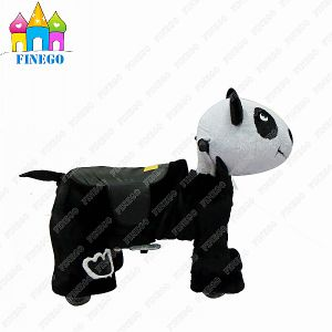 Amusement Equipment Battery Indoor Furry Animal Electric Rides Children Rider pictures & photos
