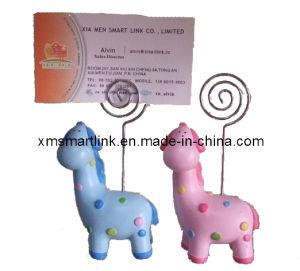 Zebra Clip Card Holder, Memo Clip for Souvenir Gift pictures & photos