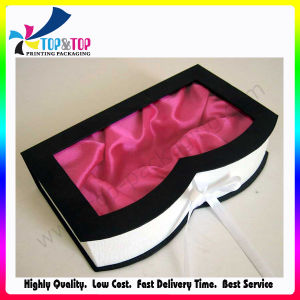 Customize Corrugated Cosmetic Packing Box with PVC Window pictures & photos