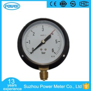 100mm 4′′ Bottom Type Two Pointer Manometer with Flange pictures & photos
