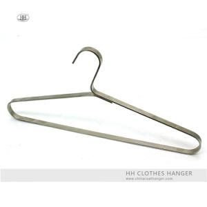 Metal Wide Board Clothes Top Hangers Black Adult Coat Hangers pictures & photos