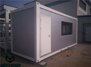 Container Office Flat Pack 20feet Container House with Bathroom pictures & photos