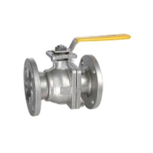 2-PC Flanged Floating Ball Valve Made of Stainless Steel