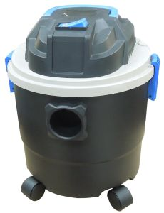 305p-15L 1250W Plastic Tank Wet Dry Water Dust Vacuum Cleaner with or Without Socket pictures & photos