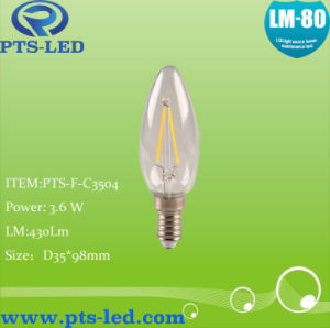 C35 1W 2W 3W 4W LED Filament Candle Lighting pictures & photos