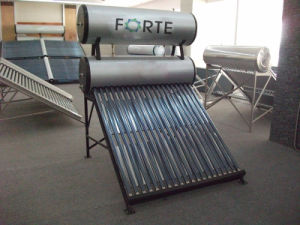 Color Steel Low Pressure Solar Water Heater pictures & photos