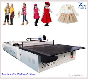 Fabric and Sheets Automatic Cloth Cutting Machine Automatic Fabric Cutting Machine with Computer Control pictures & photos