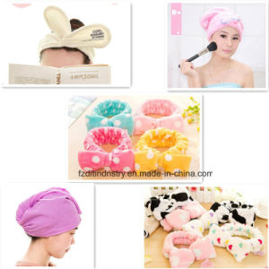 Sweety Bowknot Headband for Bundle up Hair for Washing pictures & photos