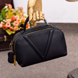 Factory Wholesale High Quality Genuine Leather Ladies Handbag pictures & photos