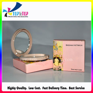 Wholesale New Design Pink Color Paper Make up Box pictures & photos