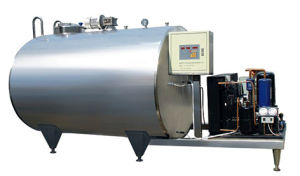 Vertical or Horizontal Fresh Milk Cooling Tank pictures & photos