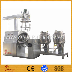 Vacuum Homogenizer/Cosmetics Vacuum Emulsifying Mixer pictures & photos