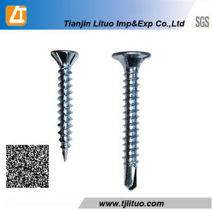 DIN18182 Black Phosphated Phllips Drive Self Drilling Tail Drywall Screw pictures & photos