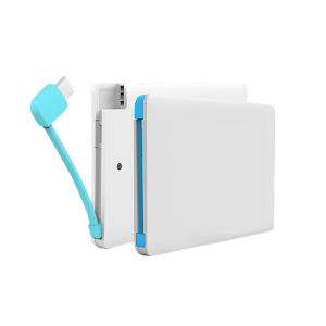 #Pbc001 2500mAh Credit Card Portable Power Bank Charger
