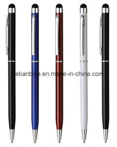 Smart Phone Slim Touch Stylus Metal Ball Pen (LT-C414) pictures & photos