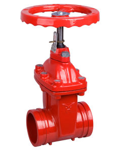 Groove Resilient Seal Gate Valve