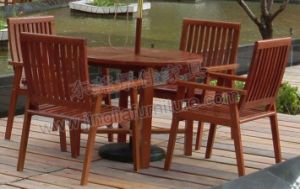 Solid Wooden Garden Outdoor Patio Dining Furniture (JJ-LT02)