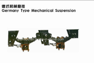 Factory From China---Germany Type Semi Trailer Mechanical Suspension pictures & photos