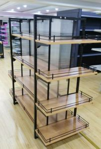 New Style Upscale Supermarket Shelf Gondola Shelf/Shelving for Women Wear pictures & photos