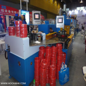 Siemens Motor Driving Physical Foam Cable Wire Extruding Machine pictures & photos