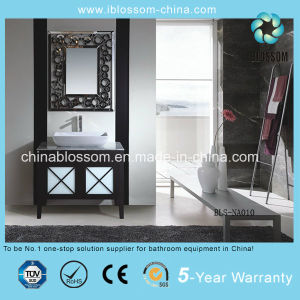Classic Bathroom Vanity Floor Mounted Art Bathroom Cabinet (BLS-NA010) pictures & photos