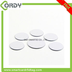 PVC material 125kHz em4100 disc RFID tag pictures & photos
