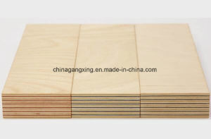 18mm Melamine Faced White Color Furniture Plywood
