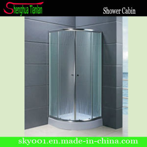 Hot Simple Sliding Painted Glass Bathroom Shower Enclosure (TL-531) pictures & photos
