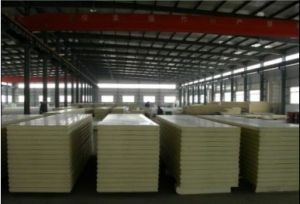 White PU Sandwich Panel for Building Materials pictures & photos