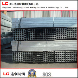 80mmx80mm Hot Dipped Galvanized Square Steel Tube for Construction pictures & photos