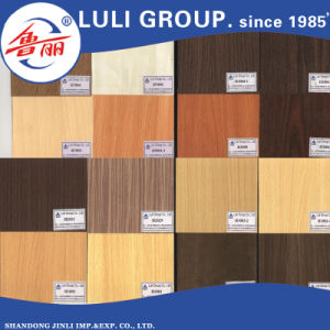 E1 Glue Melamine MDF Board From China Luli Group pictures & photos