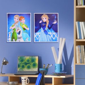 Factory Direct Wholesale Home Decoration Wall Art Children DIY Crystal Sticker K-100 pictures & photos