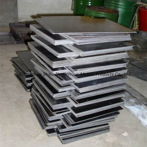 99.95% Pure Tungsten Plate, Trustworthy Tungsten Panel pictures & photos
