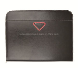 Customized Popular High Quality Zipper Portfolio File Folder pictures & photos