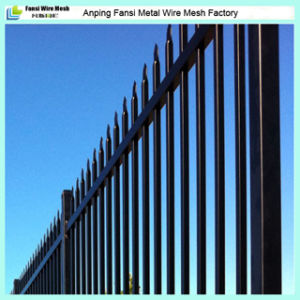 Cheap Decorative Wrought Iron Fence Panel pictures & photos