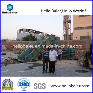 70t Pressing Force Semi-Automatic Hydraulic Baler pictures & photos