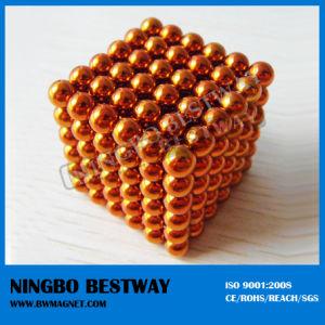 5mm Diameter 216PCS Orange Neocube for Sale pictures & photos