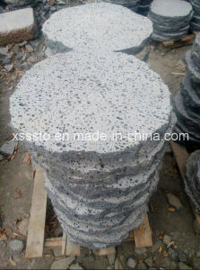 Premium Black Lava Stone for Outdoor Tiles and Pavers pictures & photos