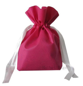 Boutique Gift Bag with Drawstring (HBNB-379) pictures & photos