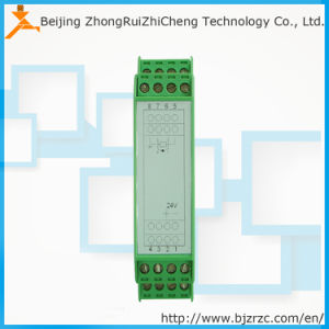 DIN Rail Mounting 4 20mA PT100 Rtd Temperature Transmitter pictures & photos