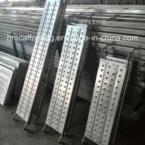 Constrution Scaffold Working Platform Steel Plank pictures & photos