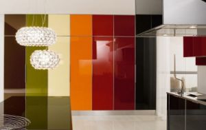 3mm-6mm Black Back Painted Glass, Lacquered Glass with ISO, CE pictures & photos
