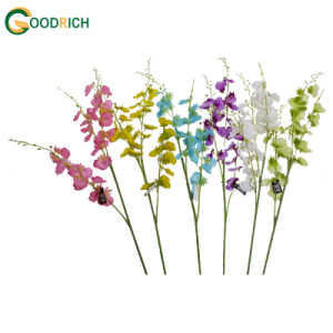 Stancing Orchid Artificial Flower for Decoration pictures & photos