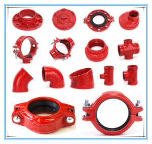 Grooved Coupling and Fittings for Fire Sprinkler System with FM UL/ULC pictures & photos