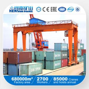 Rmg 10ton 16ton 20/10ton 32/10ton 36/16ton 50/10ton Rail Mounted Container Gantry Crane pictures & photos