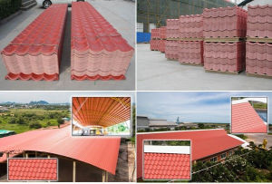 Asa Synthetic Resin Roof Tile pictures & photos