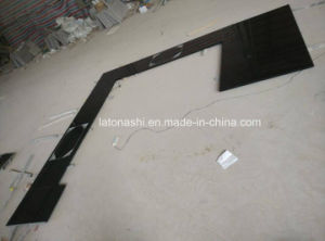 Shanxi Black Granite Countertop for Kitchen Plates pictures & photos
