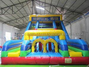 Inflatable Bouncy Slide, Inflatable Dry Slide Toy, Obstacle Slide Commercial Inflatable Slide for Kids pictures & photos