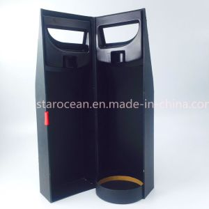 Luxury Gift Packaging Paper Wine Box with Silk Insert pictures & photos